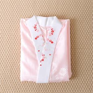 長襦袢・刺繍襟