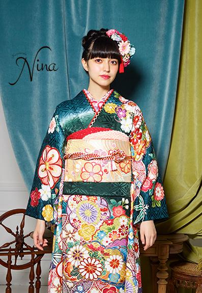 成人式・振袖の衣装写真 衣装名 NiNa