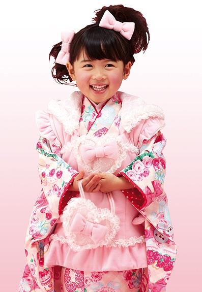 七五三の衣装写真 衣装名 SEIKO MATSUDA