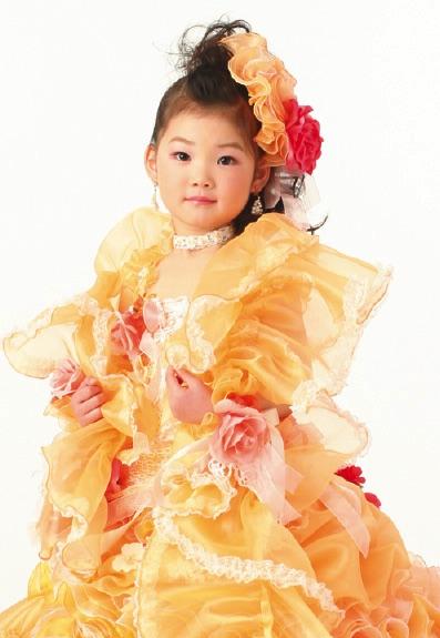 七五三の衣装写真 衣装名 Caro Luce mini