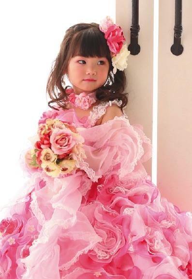 七五三の衣装写真 衣装名 HoneyFlowermini