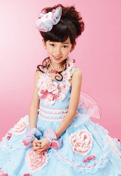七五三の衣装写真 衣装名 Pretty Kiri