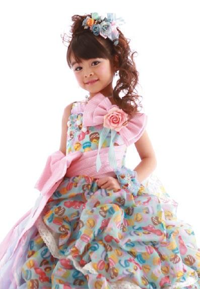 七五三の衣装写真 衣装名 Sugar Kei