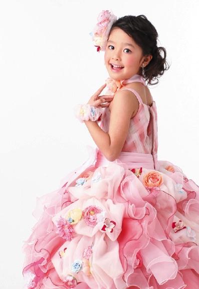 七五三の衣装写真 衣装名 Musse de Aya