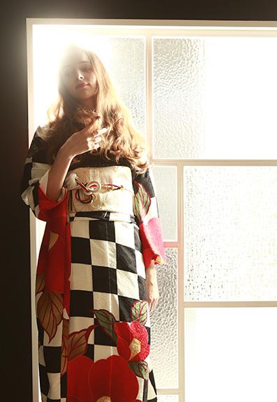 成人式・振袖の衣装写真 衣装名 l'atelier F pour les femmes
