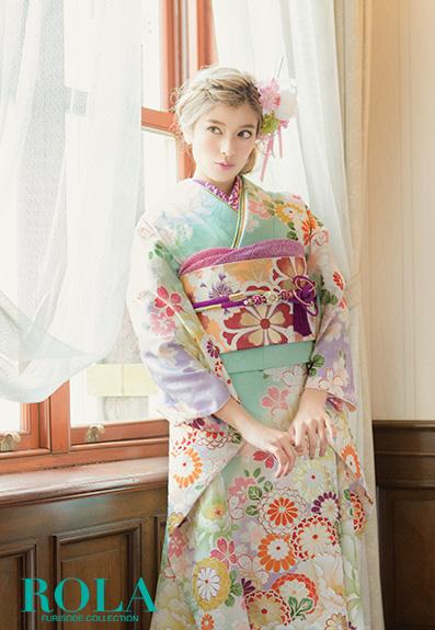 成人式・振袖の衣装写真 衣装名 ローラ