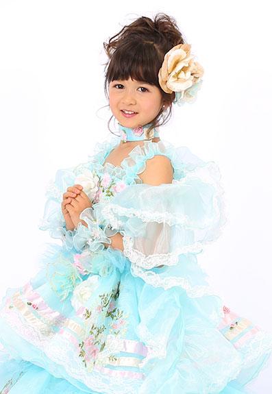 七五三の衣装写真 衣装名 Rosase mini