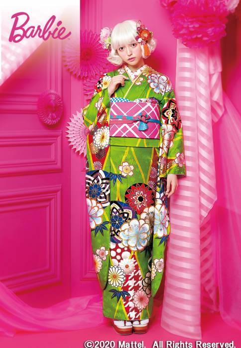 成人式・振袖の衣装写真 衣装名 Barbie™