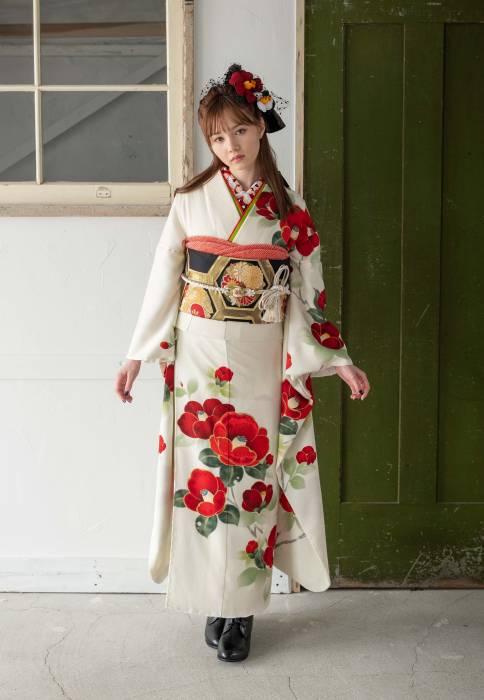 成人式・振袖の衣装写真 衣装名 Tokyo Retro